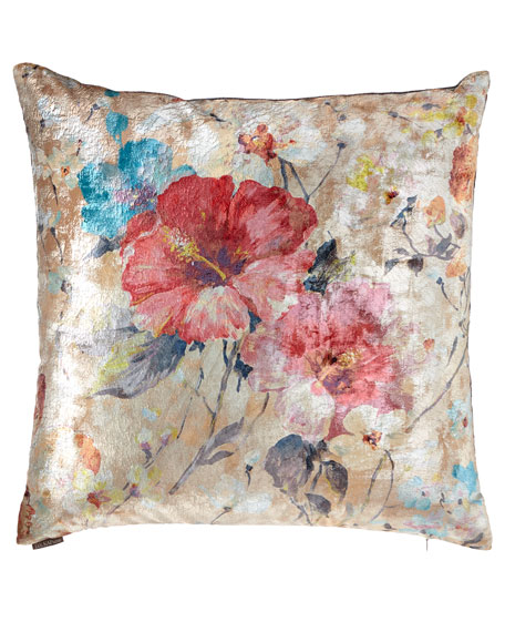 D.V. Kap Home Dazzling Rose Decorative Pillow and