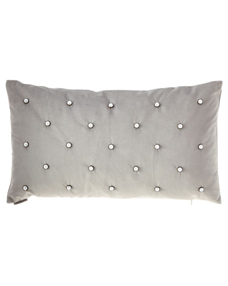 D.V. Kap Home Pearlesque Glacier Lumbar Pillow