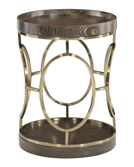 Clarendon Round End Table