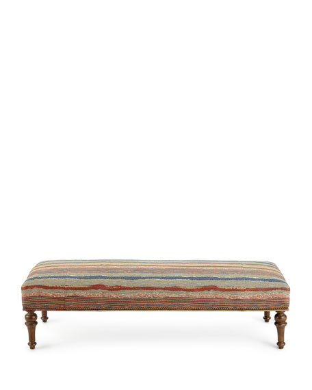 Lowell Stripe Bench