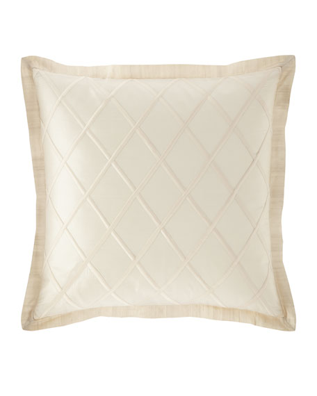Austin Horn Classics Luna Diamond Silk European Sham