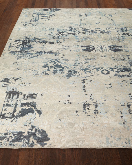 Zaffre Hand-Knotted Rug, 9' x 12'