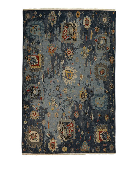 Briley Soumak Weave Hand-Knotted Rug, 9' x 12'