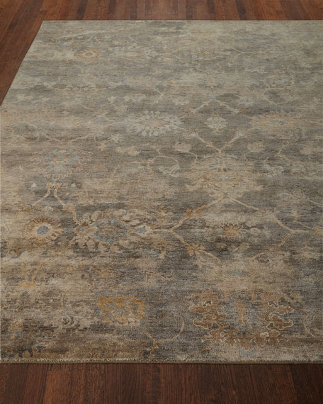 Avani Hand-Knotted Rug, 4' x 6'