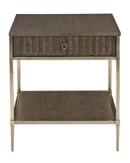 Clarendon Drawer End Table