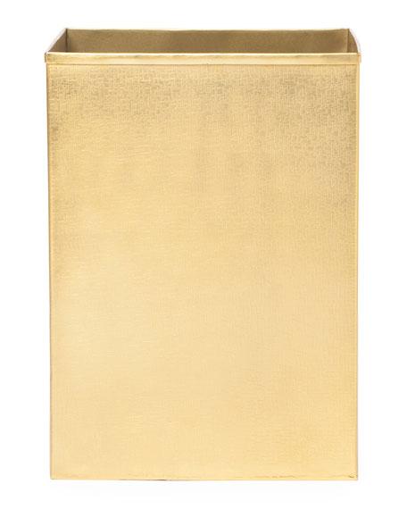 Tiset Wastebasket, Gold