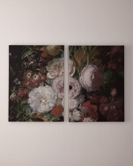 Bouquet Diptych