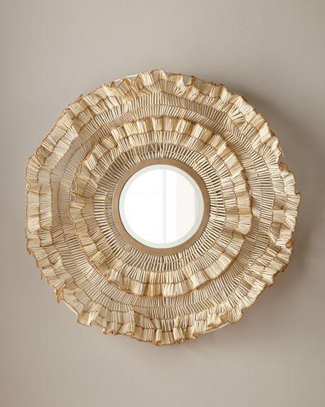 Coco Ruffle Mirror