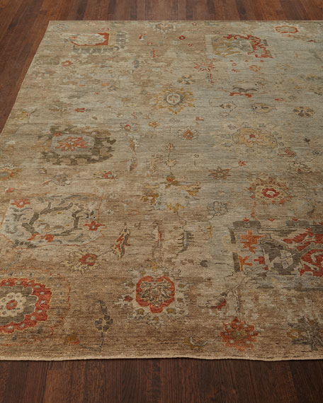 Barron Hand-Knotted Rug, 8' x 10' and Matching