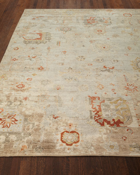 "Barron Hand-Knotted Runner, 2'6"" x 10'"
