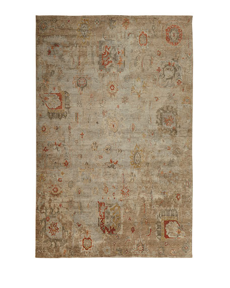 Barron Hand-Knotted Rug, 8' x 10'