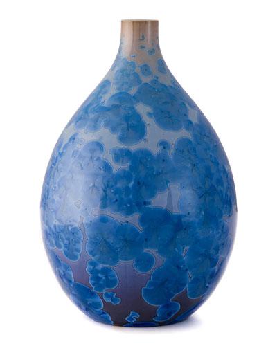 Pure Crystalline Small Teardrop Vase