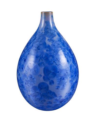 Pure Crystalline Medium Teardrop Vase