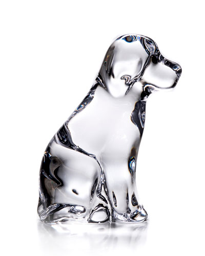 Dog Figurine in Gift Box