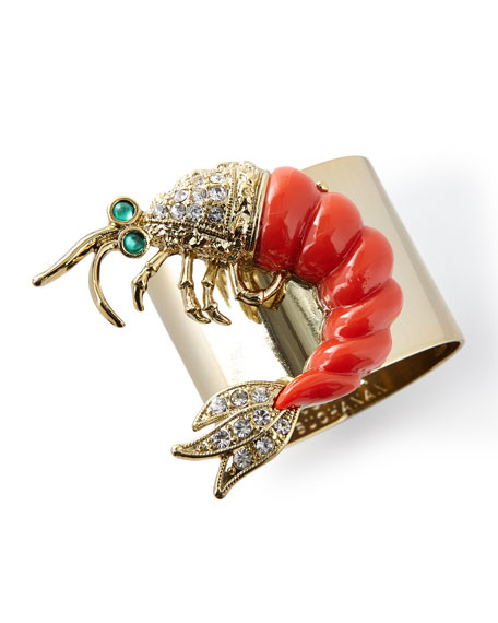 Joanna Buchanan Shrimp Napkin Rings, Set of 2