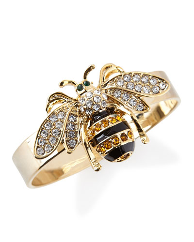 Skinny Bee Napkin Rings  Set of 4