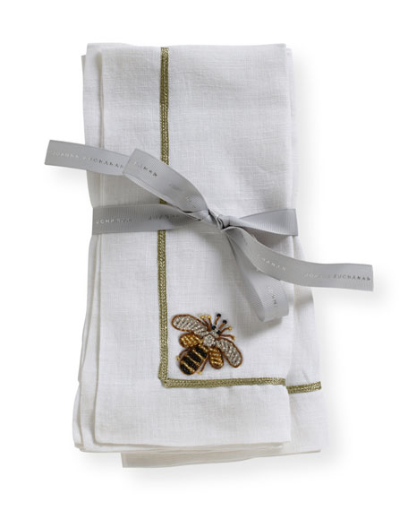 Joanna Buchanan Bee Dinner Napkins, Set of 2