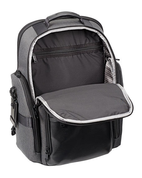 Sheppard Deluxe Backpack, Gray