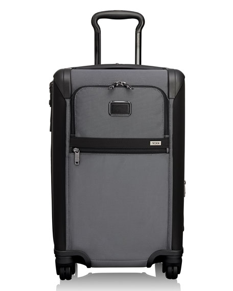 Alpha 2 International 22-Inch Wheeled Carry-On - Grey, Pewter