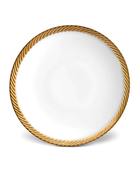 Corde Gold-Rim Soup Bowl