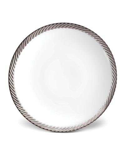 Corde Platinum-Rim Soup Bowl