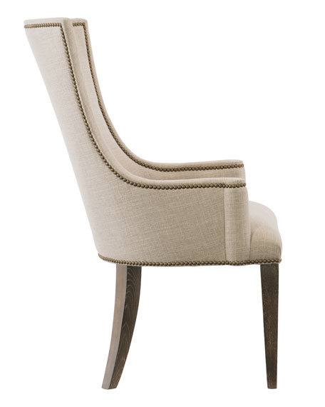 Clarendon Upholstered Arm Chair, Pair