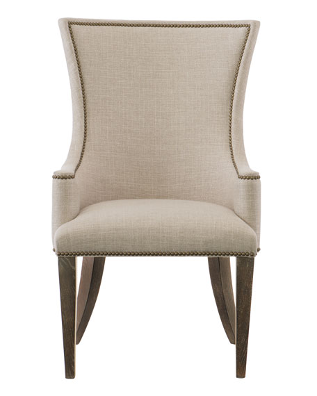 Clarendon Upholstered Arm Chair, Single
