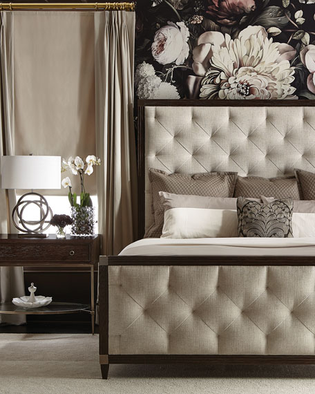 Clarendon Tufted California King Bed