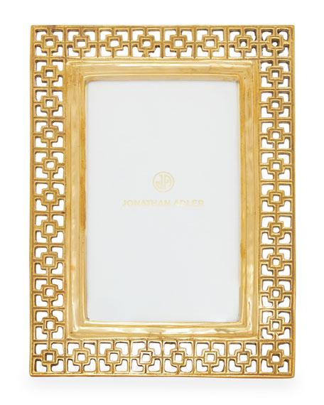 Brass Nixon Picture Frame
