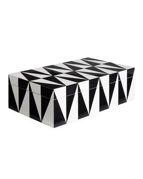 Op Art Medium Stacking Box
