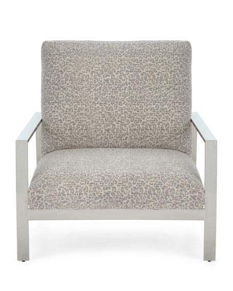 Ambri Chrome-Frame Chair