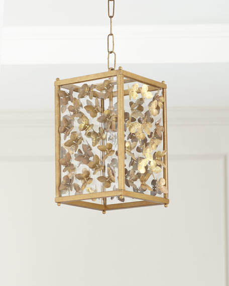 Small Butterfly Pendant Light