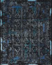 Image 1 of 2: Midnight One of a Kind Rug, 7.75' x 9.75'