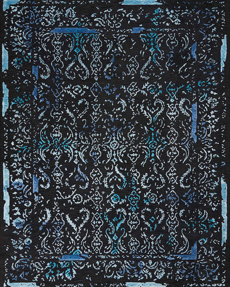 Midnight One of a Kind Rug, 7.75' x 9.75'