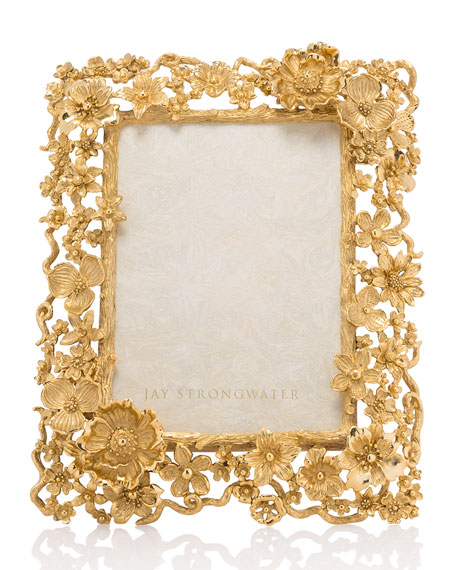 Jay Strongwater Floral Cluster Frame, 5