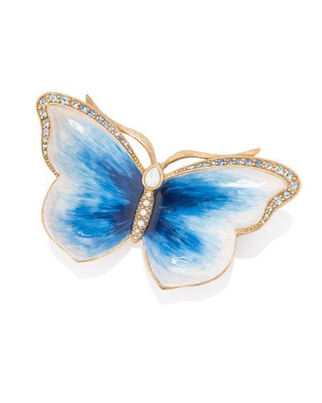 Indigo Butterfly Trinket Tray