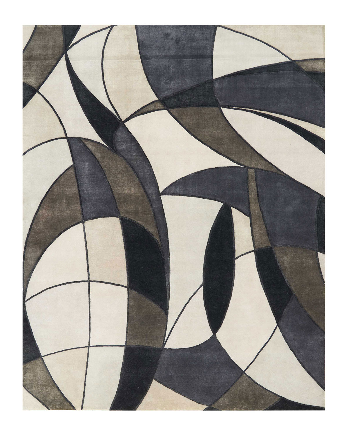 Christopher Guy Asymetrie Mediterranean Hand Knotted Rug