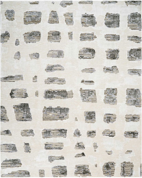 Christopher Guy Misted Morning Hand-Knotted Rug, 8' x
