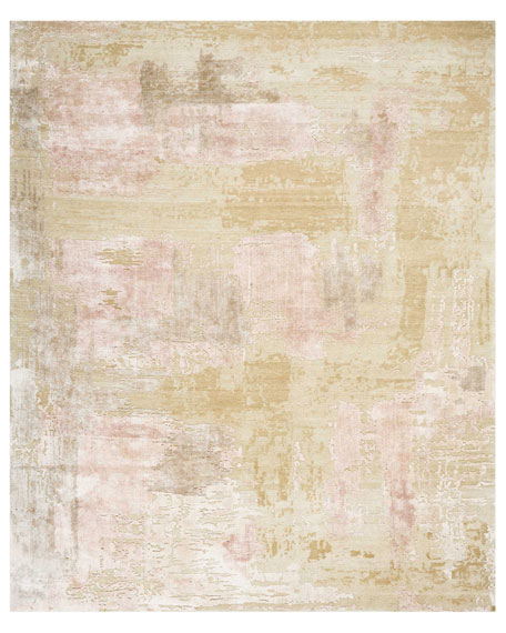 Mirage Shale Hand-Knotted Rug, 9' x 12'