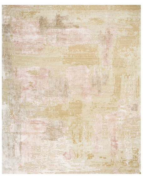 Christopher Guy Mirage Shale Hand-Knotted Rug, 8' x