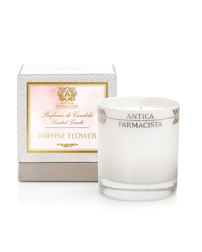Daphne Flower Candle, 9 oz.