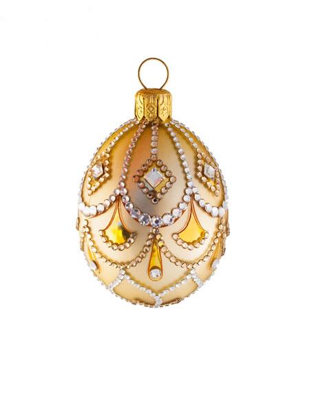 Petit Egg Cordelia Crystal Ornament