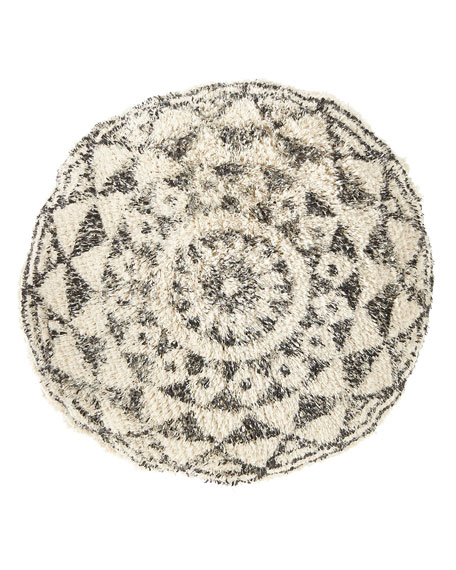 Habibi Round Pillow with Insert