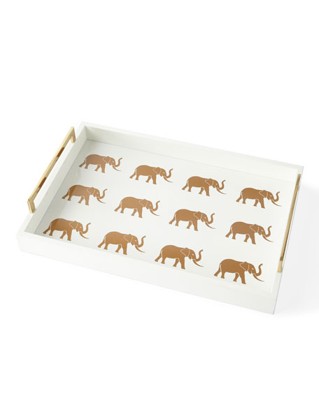 Meru Elephant Small Tray and Matching Items