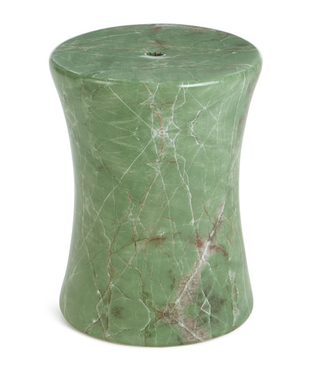 Jade Drum Stool
