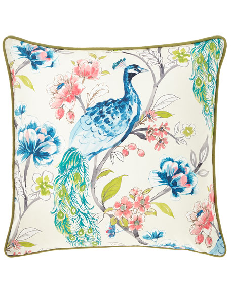 Eastern Accents Poe Caribbean Small-Welt Pillow