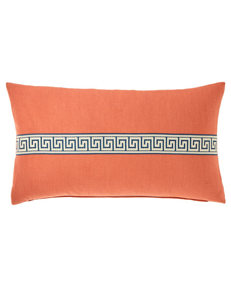 Eastern Accents Breeze Greek Key Pillow, 15