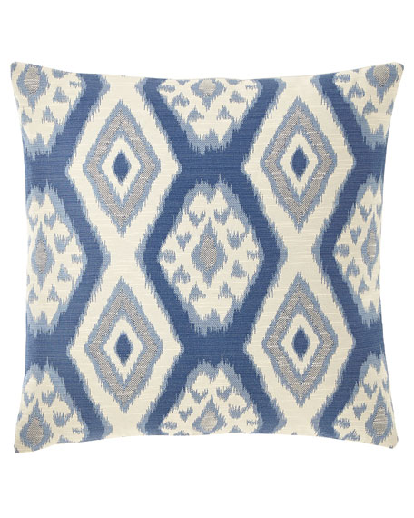 Eastern Accents Fey Marine Knife Edge Pillow