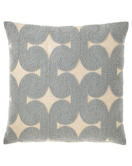 Rhea Slate Knife Edge Pillow