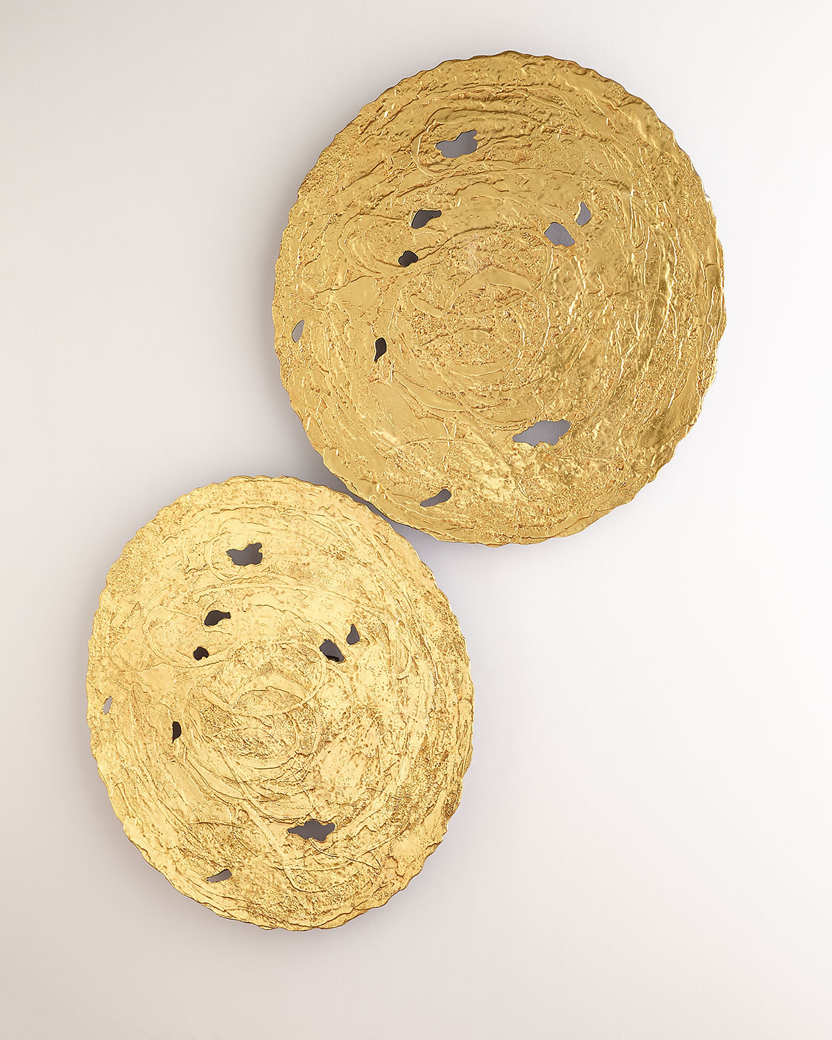 The Phillips Collection Large Gold Circle Wall Decor | Neiman Marcus
